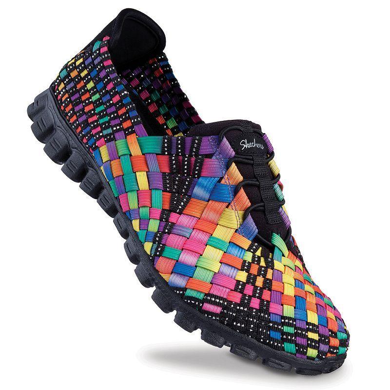 Skechers EZ Flex 2 TADA! Women's Stretch Weave Slip On Shoes