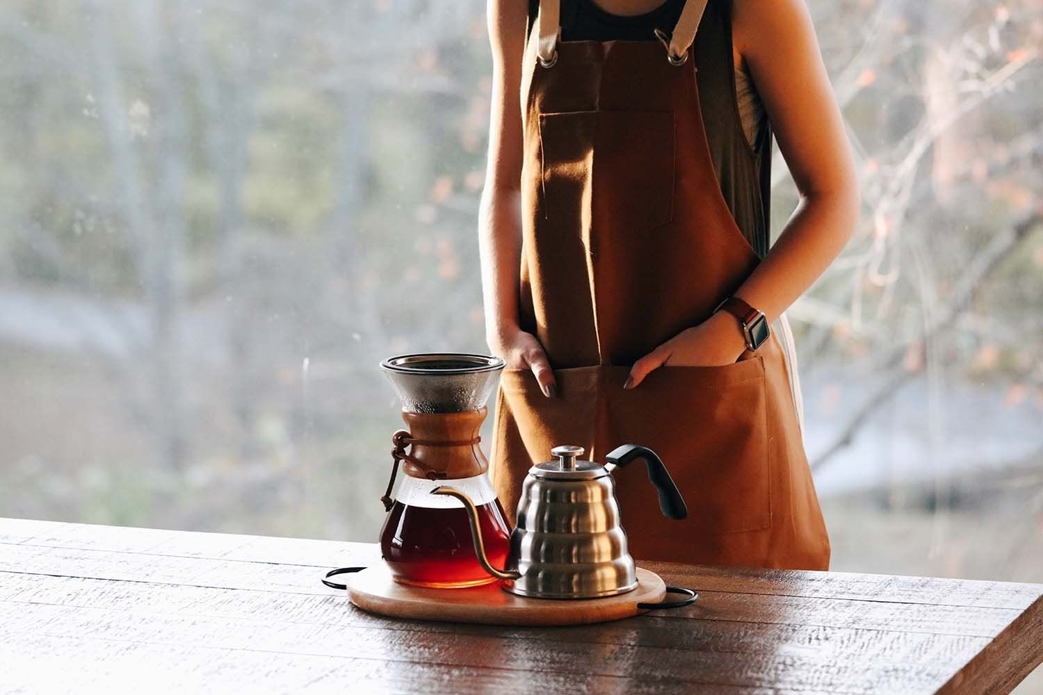Compatible with chemex and hario v60 this pour over