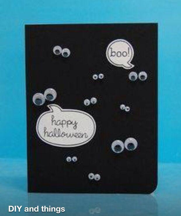 Homemade Cards Halloween Cards Handmade Halloween Cards Cards Handmade