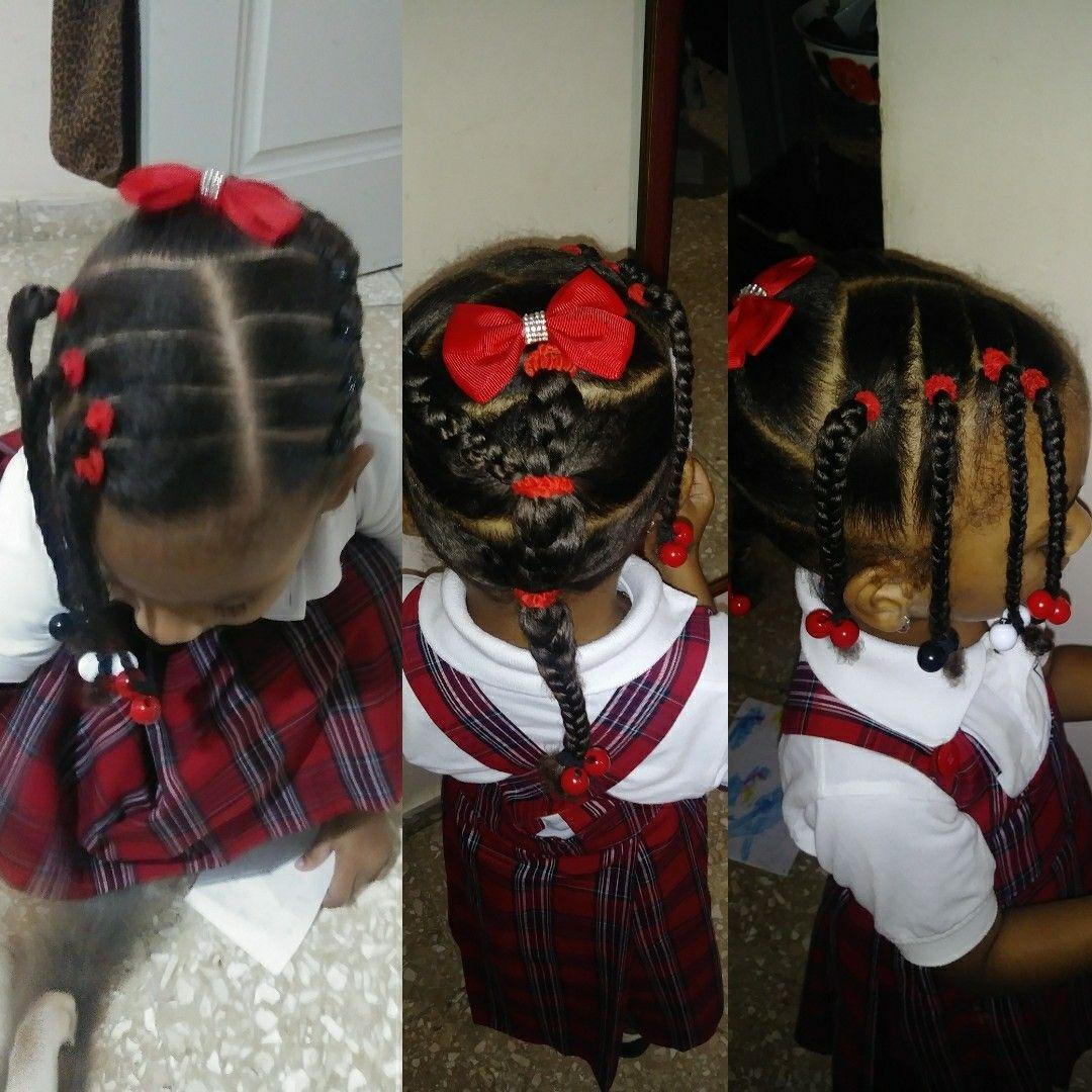 Fabuloso peinados para ir al colegio Colección de ideas de color de pelo - Peinado para ir al colegio #pelocrespodeniña | Peinados ...