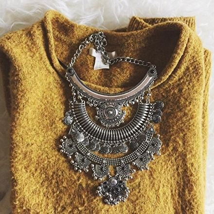 Gypsy Statement Necklace #fashion #girly #fashionista -  28,90 € @happinessboutique.com