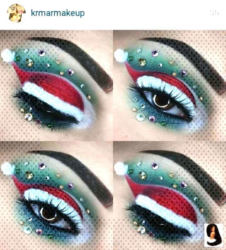 Weihnachten Lidschatten - Dress Models    Eyeshadow Looks Christmas eyeshadow    Weihnachte