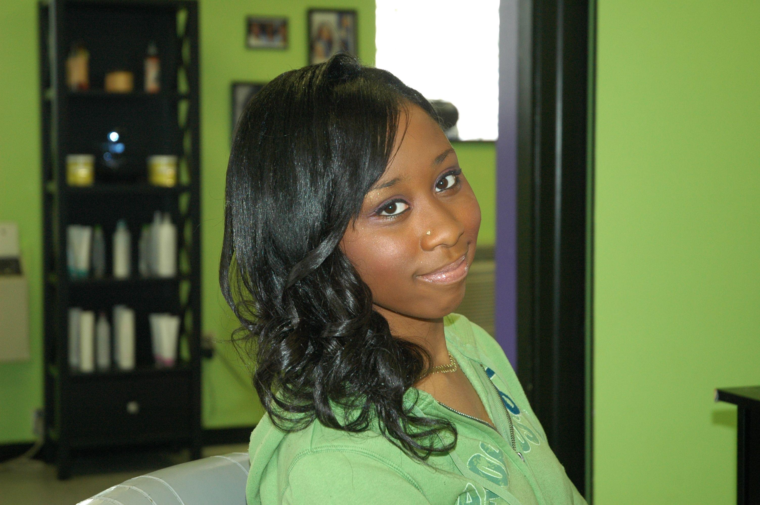 Sidesweep hair easy maintenance pinterest