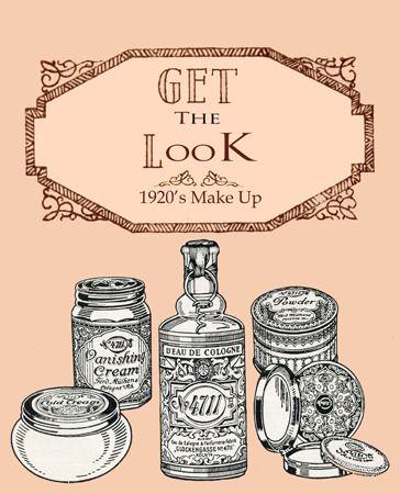 1920s Makeup Products 1920s Health Beauty Vintage Makeup - 1920s-makeup-ads