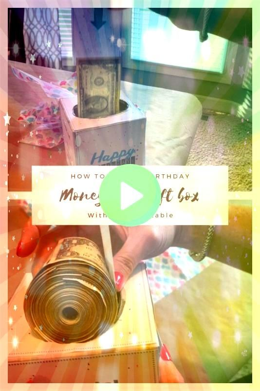 a fun way to give cash for a birthday This easytomake money roll is made with a tissue box My post includes a free printable that can be used to put this together quickly...