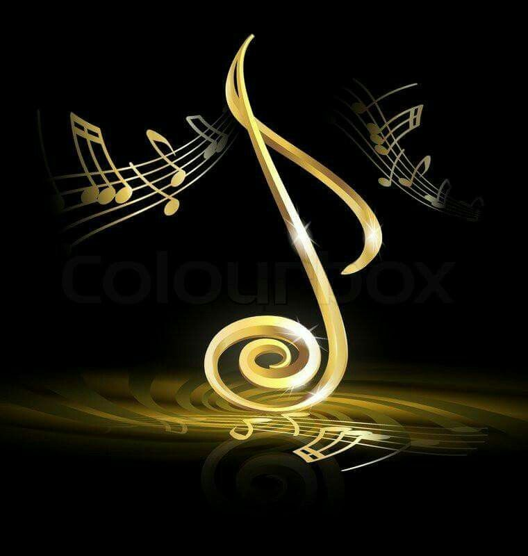 Happy Birthday Music Notes By Joyce Kolb On Black