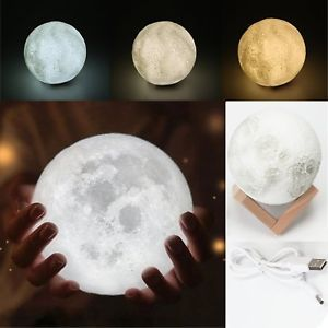 LED Details Night Touch about Magical Light Lamp 3D Moon 2IYEDHW9
