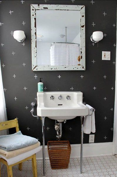 Wallpaper Wall Focus Accent Chalkboard Bathroom Bedroom Dining - Chalkboard accents dining rooms