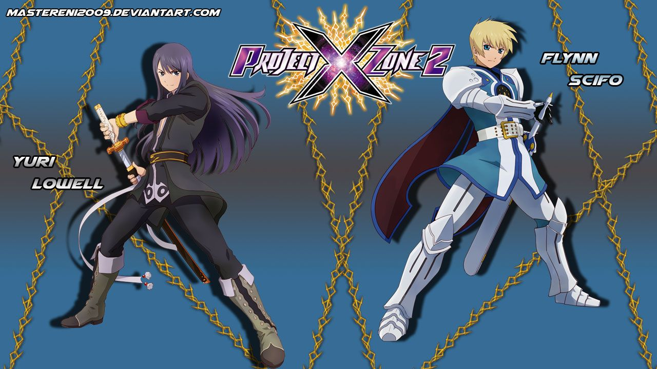 Project X Zone 2 Project X Zone 2 Brave New World Wallpaper