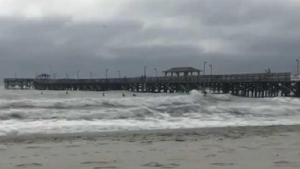 Another Historic Pier Falls Victim to Matthew | Projects to