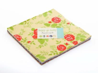 Happy-Go-Lucky Layer Cake by Bonnie & Camille for Moda Fabrics