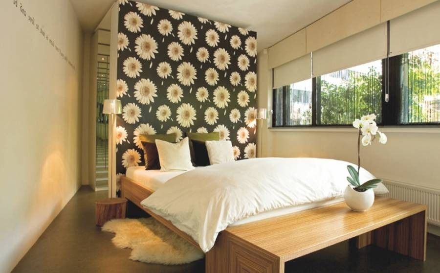 Inrichting Slaapkamer Behang - Design Ideeën in Woonkamer Inrichten ...