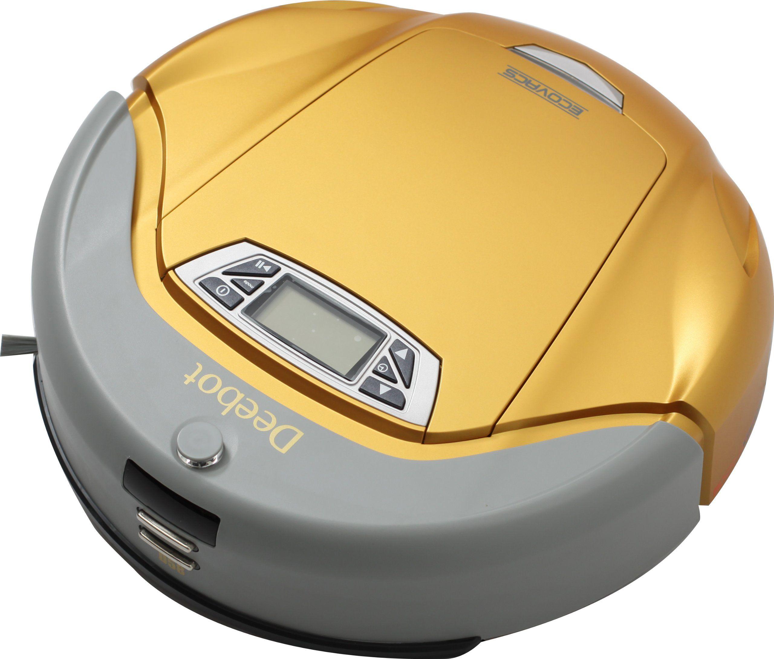 Deebot D58 Roboterstaubsauger, gold: Amazon.de: Küche & Haushalt