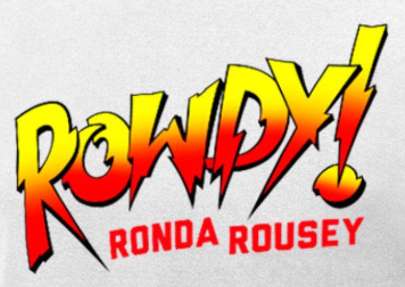 Rowdy Ronda Rousey Logo-WWE | wwe logos | Rowdy ronda, Ronda