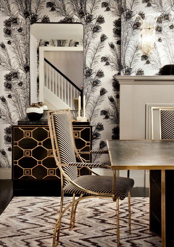 esszimmer modern einrichten mit esstisch schwarz und kreative - wohnzimmer dekorieren schwarz