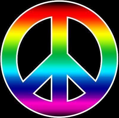 Crayola Peace Symbol