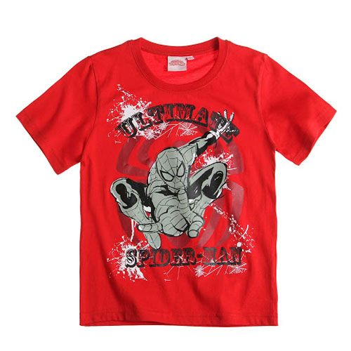 This Is An Officially Licensed Ultimate Spider-Man T-Shirt