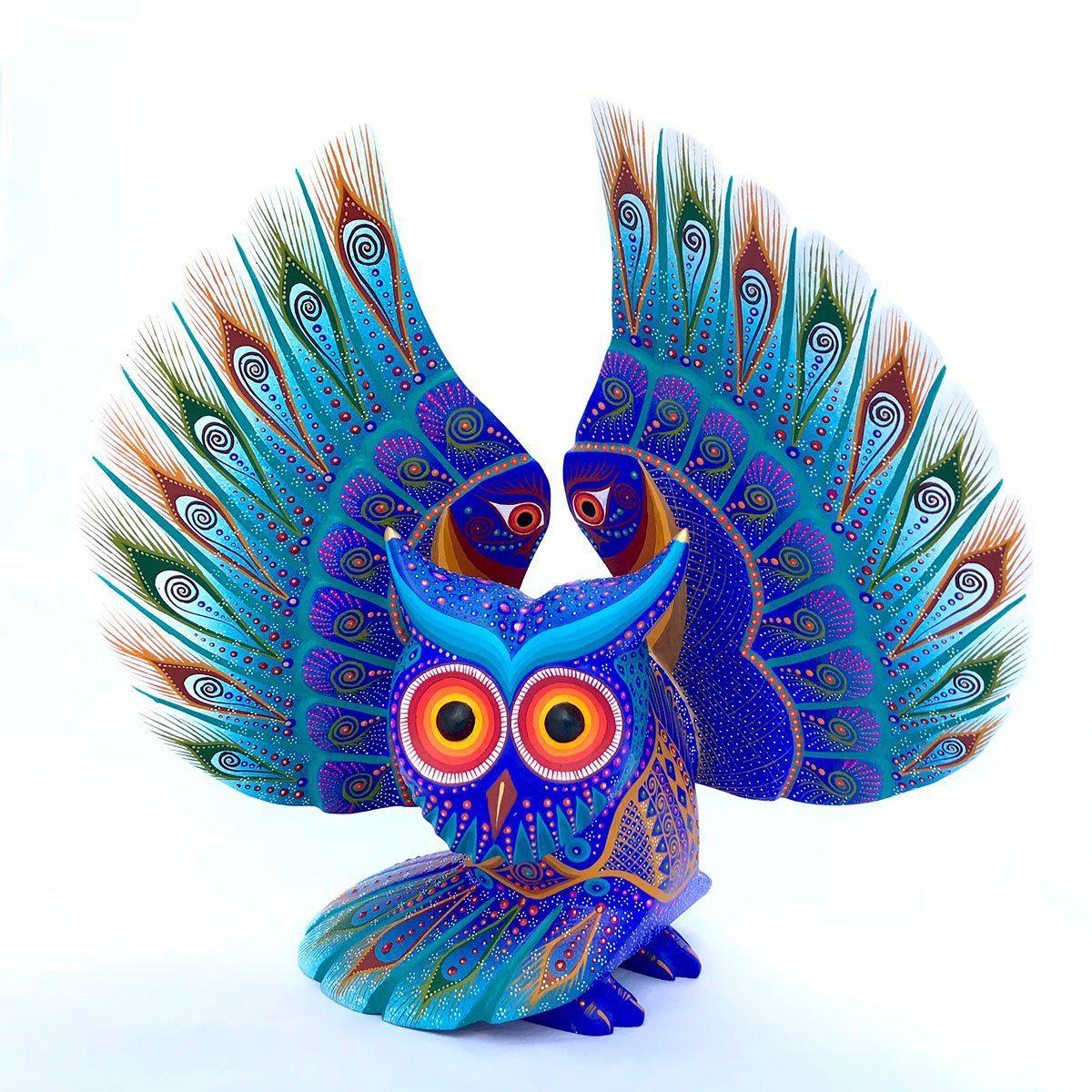 Luis sosa calvo large spreadwing owl pinterest woodcarving