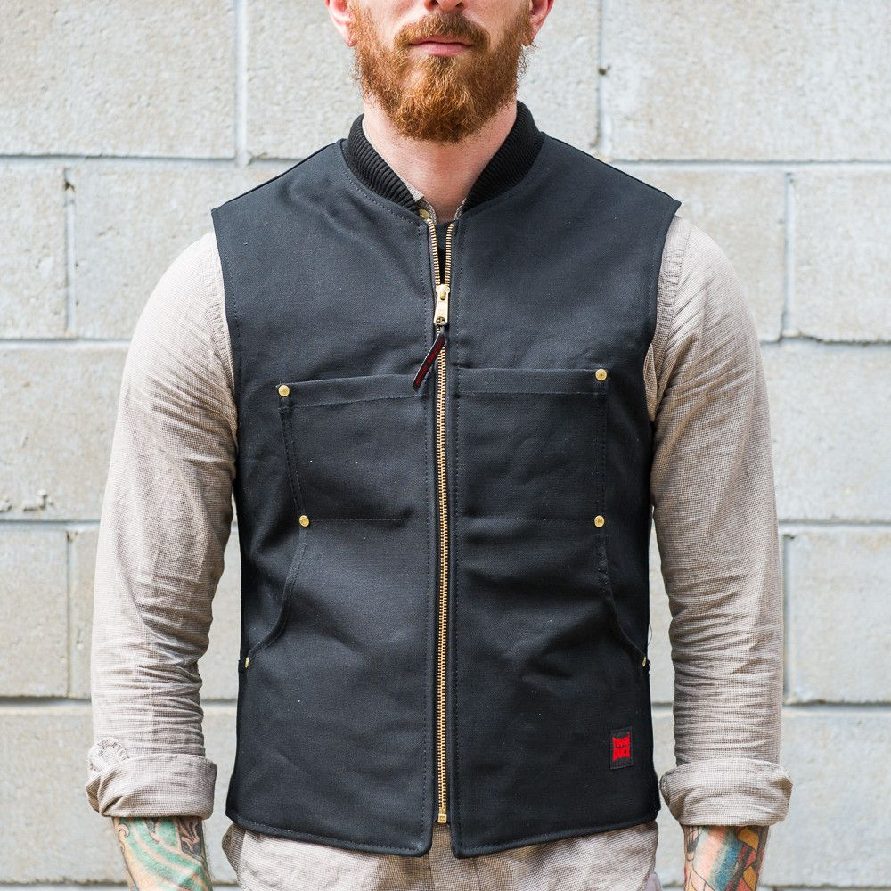 Tough Duck Quilted Lined Vest in 2020 Vest, Jackets