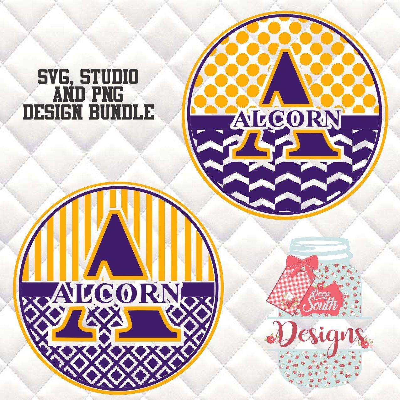 Alcorn State Braves Svg Silhouette Studio Bundle 2 Design Download Svg Silhouette Studio Design