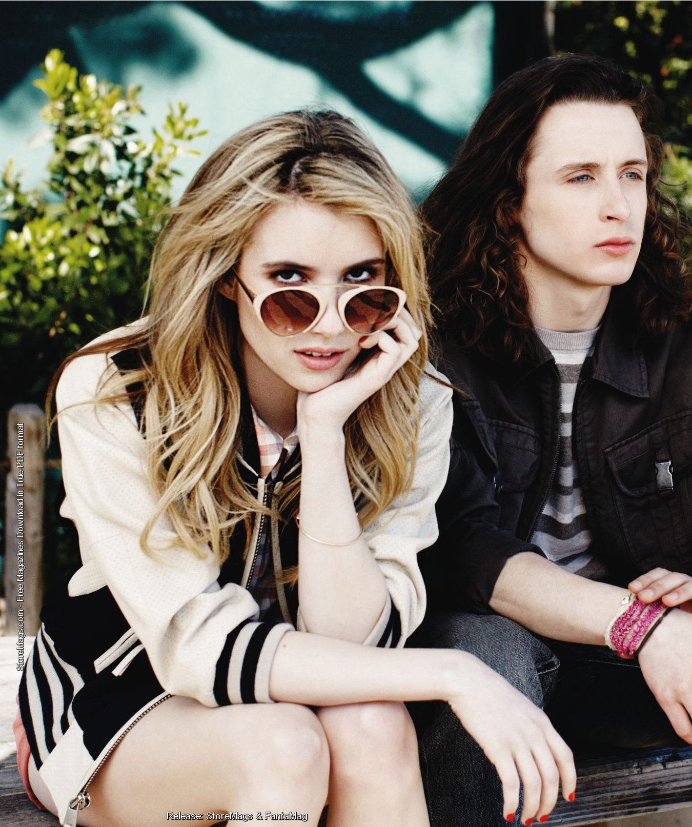 Emma Roberts and Rory Culkin, May 2011