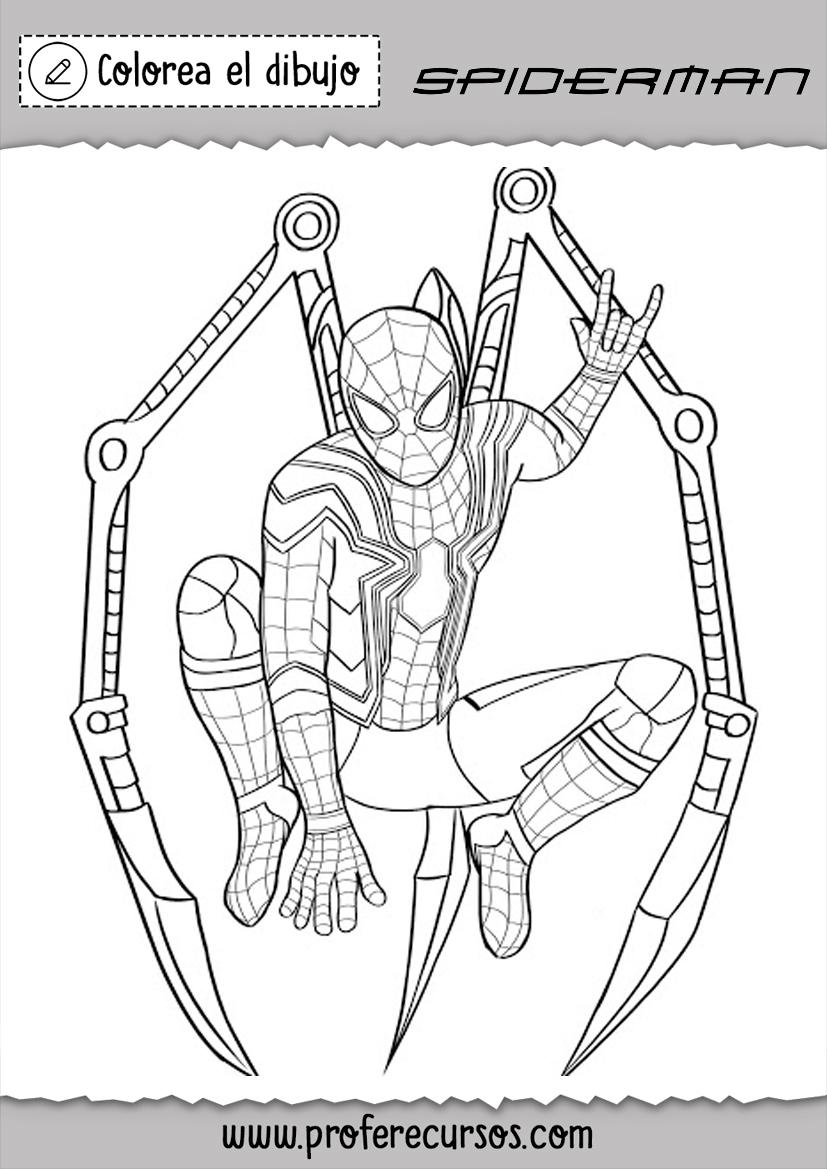 Spiderman Dibujos Spiderman Dibujo Spiderman Dibujo Para Colorear Spiderman