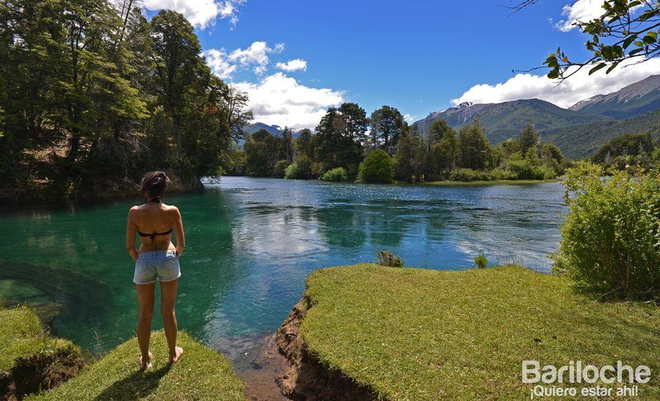 Verano en Bariloche. Valle del rio Manso.