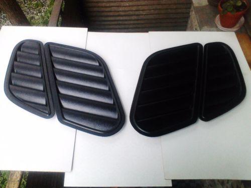Bmw E46 M3 E39 M5 Gtr Bonnet Dtm Hood Vents Grilles Air Duct Stance Turbo E46 Tuning Autos