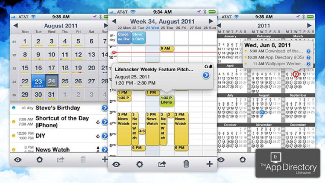 The Perfect Calendar Apps for iOS and Android Best