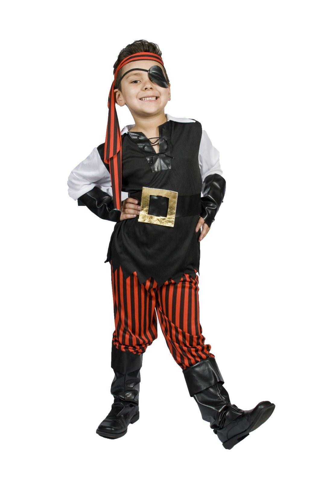 Kids Child Boys Pirate Halloween Costume Size 5678 Ahoy  sc 1 st  Pinterest & Kids Child Boys Pirate Halloween Costume Size 5678 Ahoy Matey ...