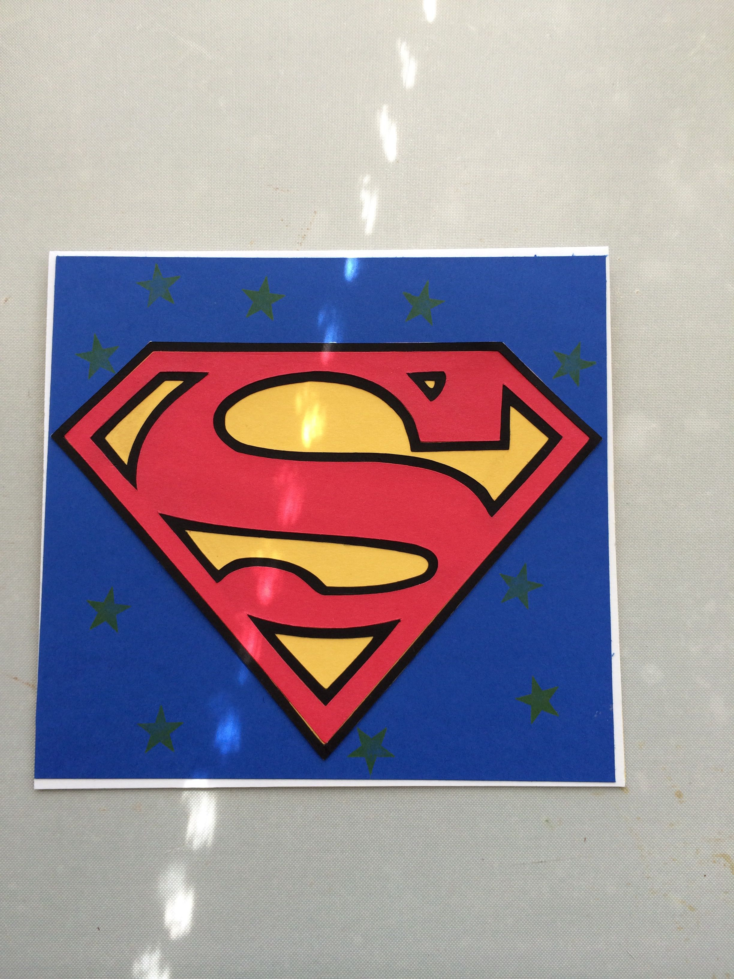 Superman card I made!!! | kids cards | Pinterest | Kids cards and Cards