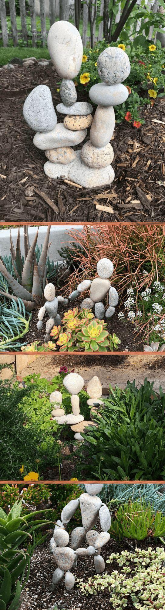 15 kreative River Rock Stone-Ideen und -Designs für Ihren Zen-Garten #riverrockgardens 15 kreative River Rock Stone-Ideen und -Designs für Ihren Zen-Garten #riverrockgardens