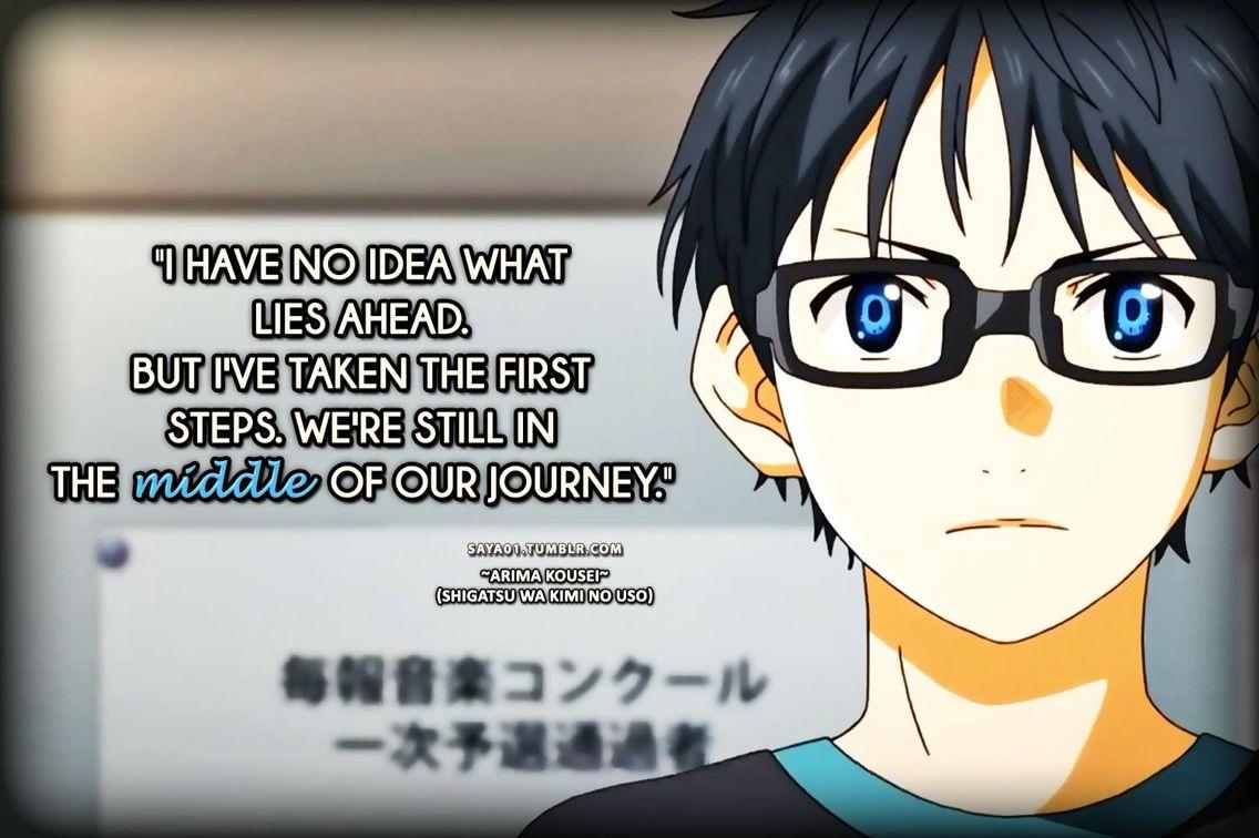 Kousei Arima Quotes: Arima Kousei-Shigatsu Wa Kimi No Uso