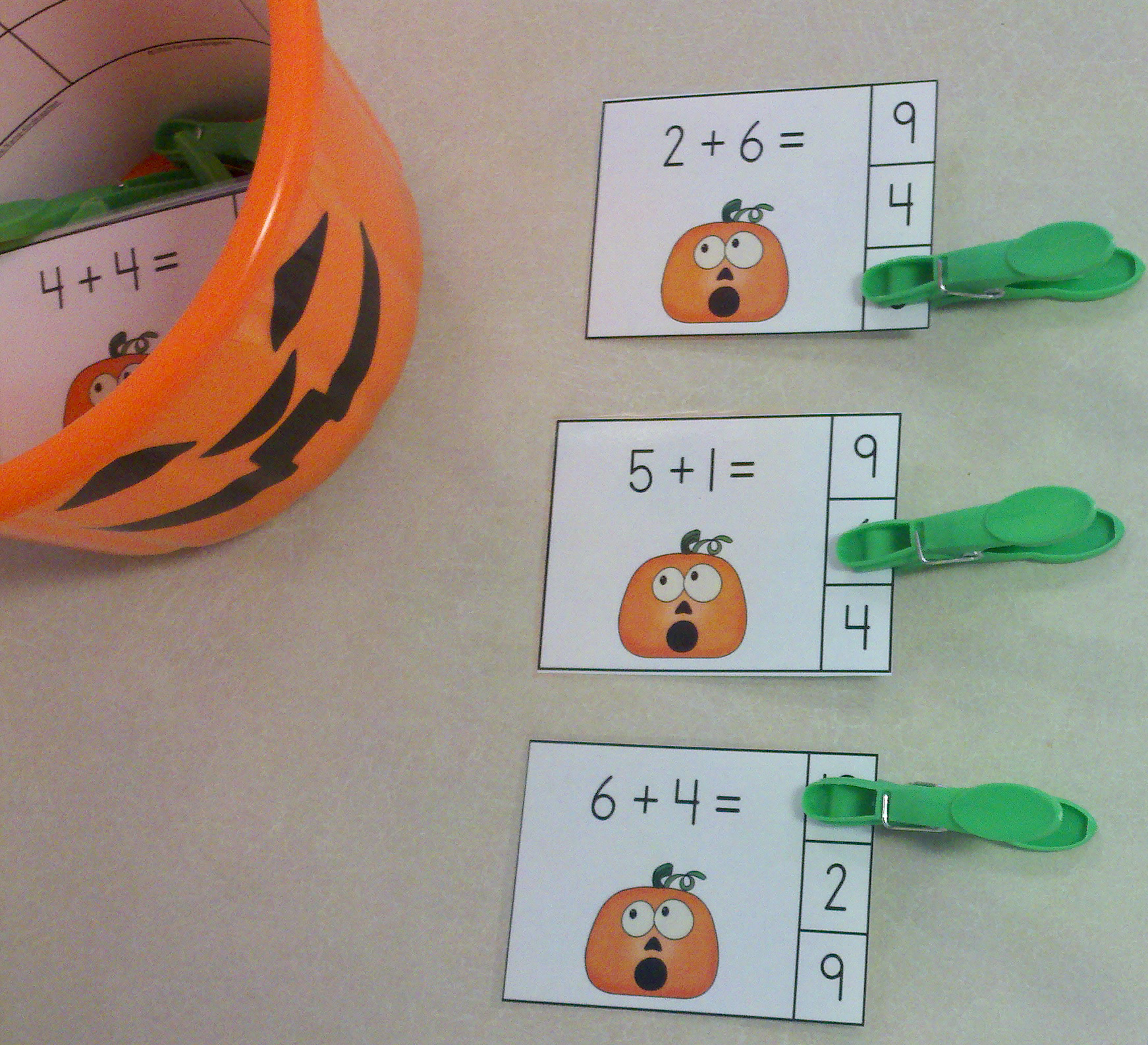 Jack S Facts Halloween Addition Math Centers Sums Of 0 10