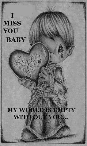 Miss You Baby Much Stock Photo (Edit Now) 259662989