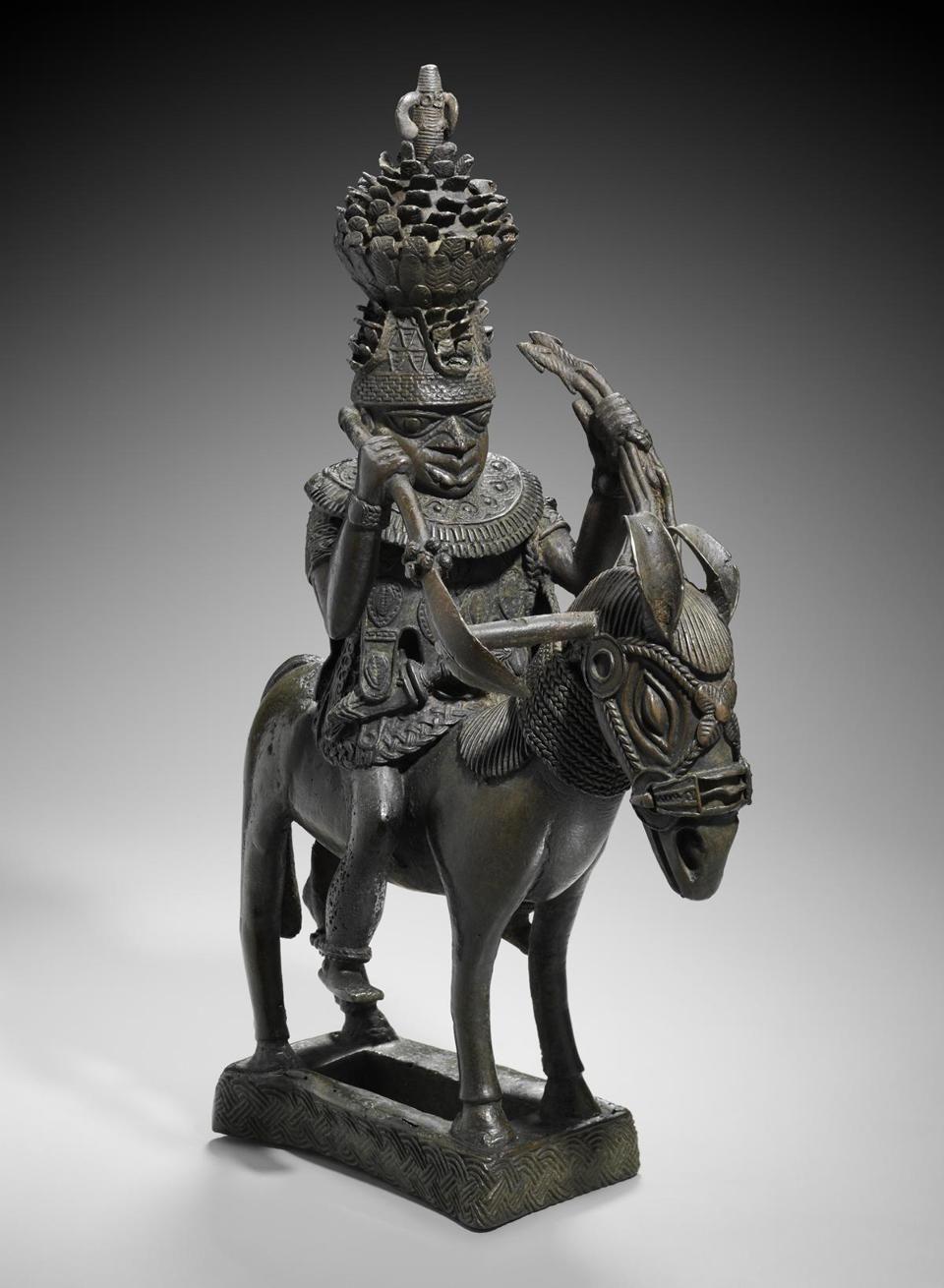 Museum Of Fine Arts Prized Benin Bronzes Over Line