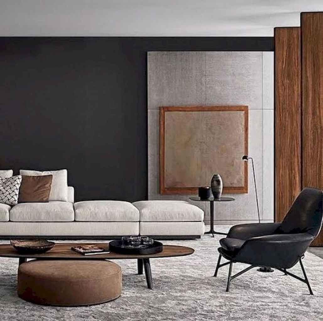 01 modern minimalist living room designs in 2020   Modern ...