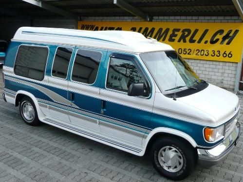 Econoline E 150 Ford Business Universal Conversion Van By Glaval