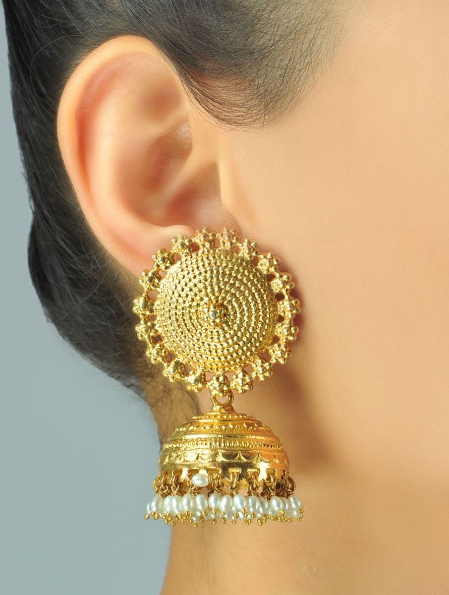 Sooryan Jhumka Earrings