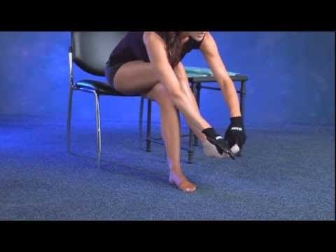 Putting On Compression Stockings Is Very Different From Putting On Regular Stockings This Video Compression Stockings Compression Hose Ankle Compression Socks