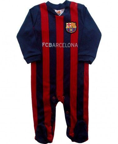 FC Barcelona Baby Sleepsuit  8996b3b45ee