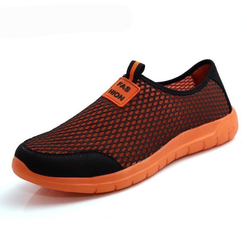 sale retailer a642c c217a COP 74.000 Zapatos Tenis cerrados en malla sin cordones para hombre y mujer