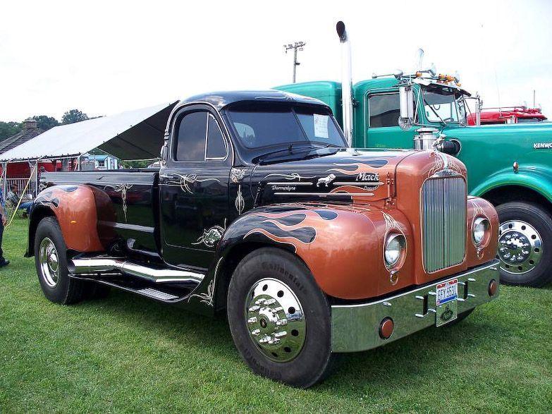 B-61 Mack Pickup | Rigz | Pinterest | Trucks, Mack trucks ...