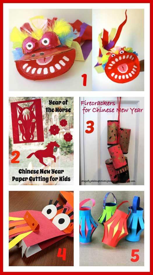 Diy Chinese New Year Craft Ideas Handmade Kids Chinese New Year Crafts New Year S Crafts New Year Diy