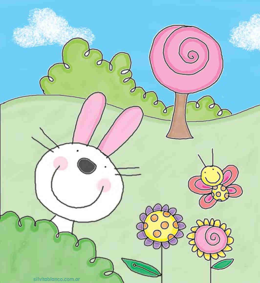 Primavera Dibujos Para Ninos