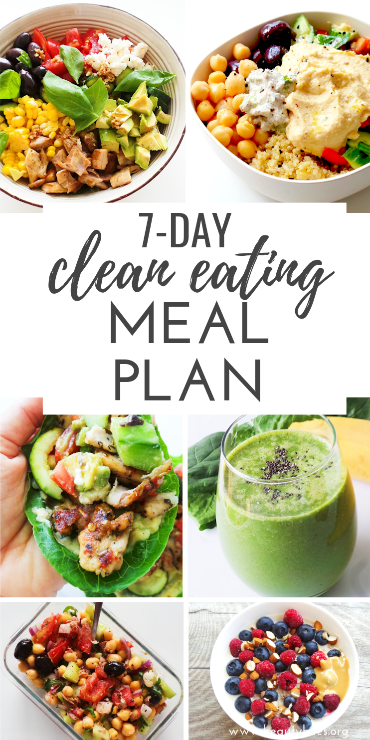 7-Day Clean Eating Challenge & Meal Plan #3 - Beauty Bites -   15 diet Clean Eating buzzfeed ideas