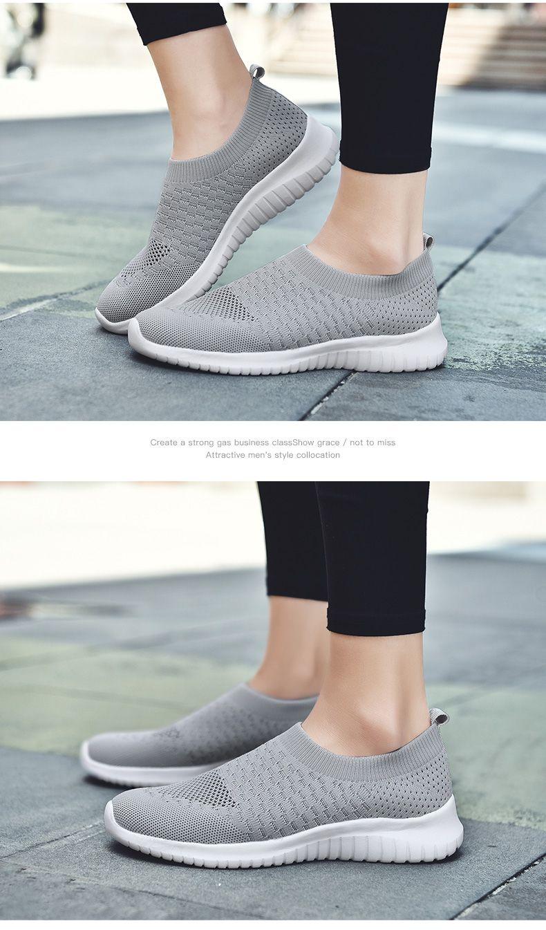 Knitted Walking Shoes-DW   Walking
