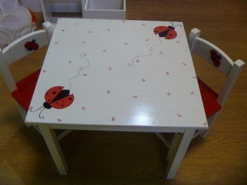 Mesas para ni as y ni os design pinterest mesa para ni os para ni os y mesas - Mesas madera ninos ...