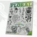 Libros de diseños de tatuajes II: Libro de tatuajes florales