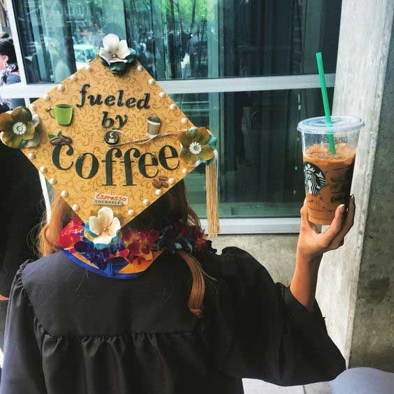 25 Of The Prettiest Diy Graduation Caps You Ll Ever See